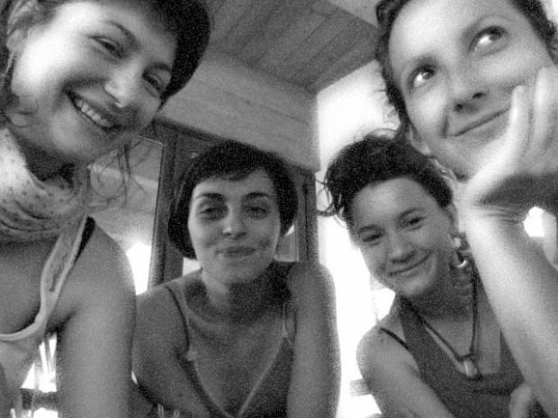 Cecilia, Valentina, Anna e Lucia.