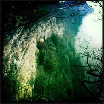 cliffs of the lago maggiore